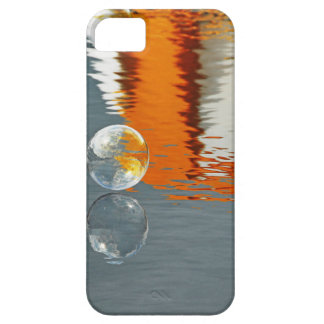 Bubbles Reflecting in Water iPhone 5 Covers