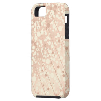 Bubbly Cream and Beige Tough iPhone 5 Case