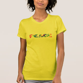 Bubbly Dot Tie Dye PEACE T-shirt