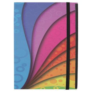 """Bubbly Rainbow iPad Pro 12.9"""" Case"""