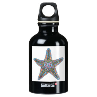 Bubbly Starfish SIGG Traveller 0.3L Water Bottle