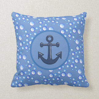 Bubbly Waters Anchor Cushion