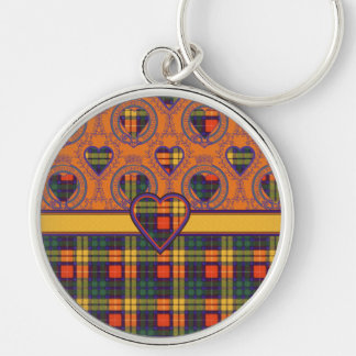 Buchanan Family clan Plaid Scottish kilt tartan Key Ring