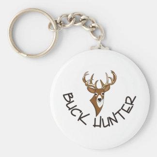 Buck Hunter Key Ring