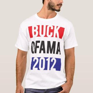 Buck Ofama 2012 - RedWhiteBlue T-Shirt