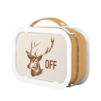 Buck Off Lunch Box