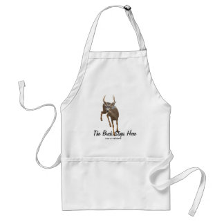 BUCK STOPS HERE APRONS