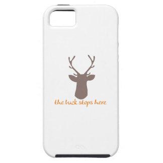Buck Stops Here iPhone 5/5S Cases