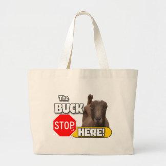 Buck Stops HERE! GOAT Bag
