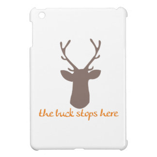 Buck Stops Here iPad Mini Cases