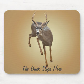 BUCK STOPS HERE MOUSE PAD