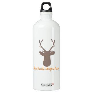 Buck Stops Here SIGG Traveller 1.0L Water Bottle