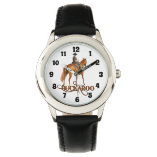 Buckaroo Little Cowboy Western Theme for Boys Watch