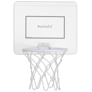 Buckets! Fun Household Basketball Goal Mini Basketball Hoop