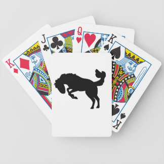 Bucking Bronco Horse Playing Cards. Bicycle Playing Cards