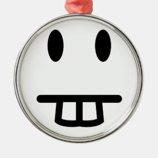 Bucktooth Face Christmas Ornament