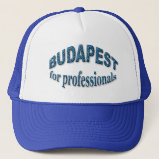 Budapest for Professionals Trucker Hat