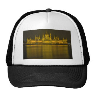 Budapest hungarian parliament building cap