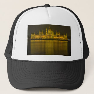 Budapest hungarian parliament building trucker hat