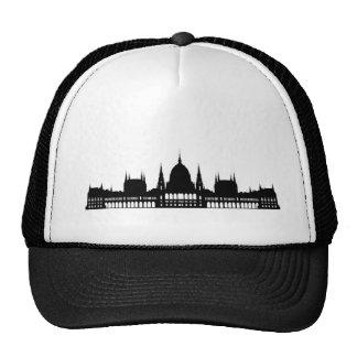 budapest hungary parliament palace architecture cap
