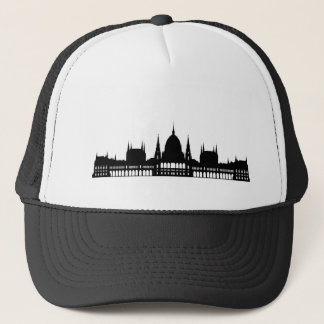 budapest hungary parliament palace architecture trucker hat