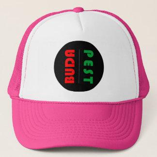 Budapest minimalist - circle - 01 trucker hat