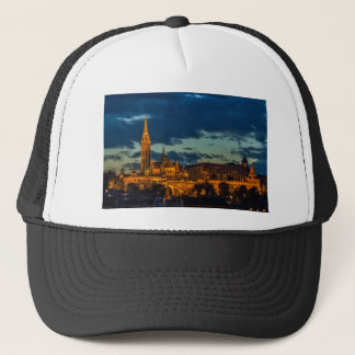 Budapest Picture Trucker Hat