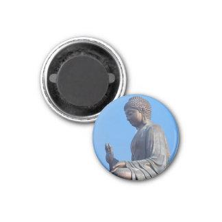 Buddha 3 Cm Round Magnet