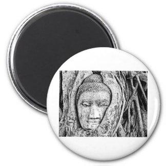 Buddha 4 fridge magnet