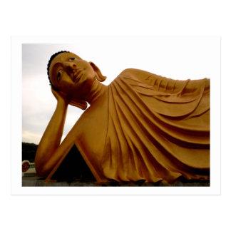 Buddha 4 ~ Thailand Peace Tranquility Serenity Postcard