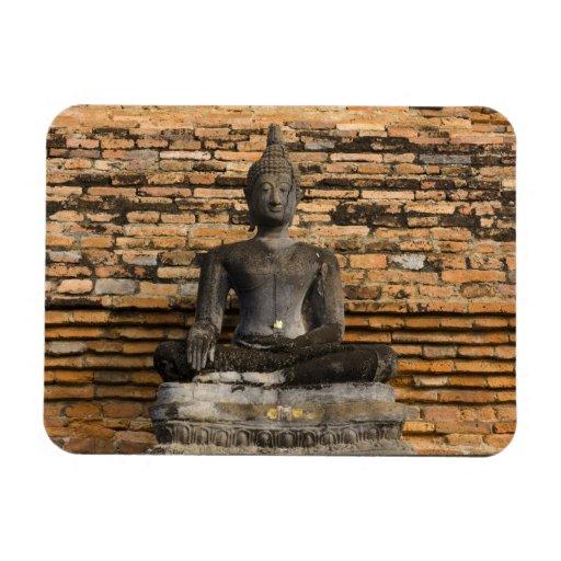 Buddha at Wat Mahathat. Vinyl Magnets