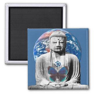 Buddha Awaits Magnet