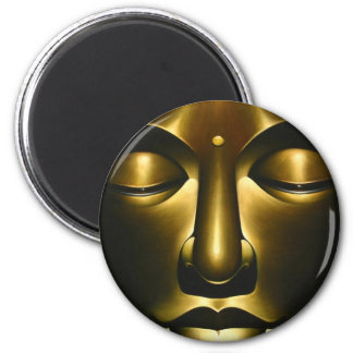 Buddha Bliss 6 Cm Round Magnet