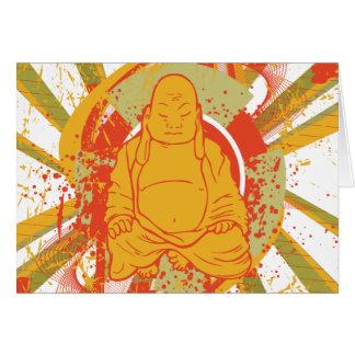 Buddha ~ Buddhism Buddhist Sunburst Card