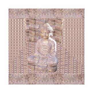 Buddha Buddhism Religion Meditation Spiritual Art Canvas Print