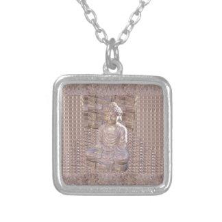 Buddha Buddhism Religion Spiritual Meditation gift Custom Necklace