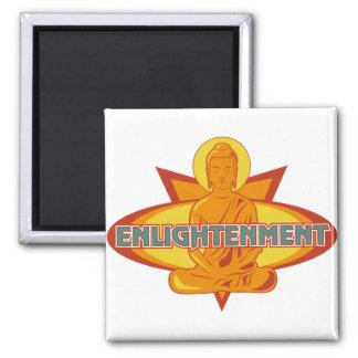 Buddha Enlightenment Fridge Magnet
