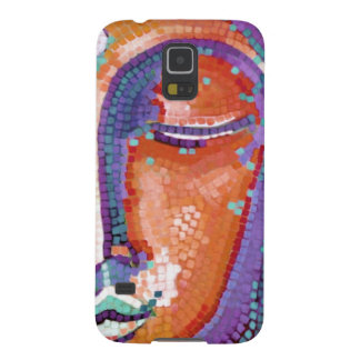 Buddha Face Tan Color Cases For Galaxy S5