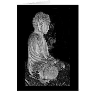 Buddha [garden sculpture] card