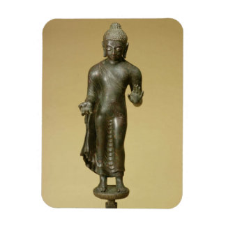Buddha, Gupta, Phopnar (bronze) Rectangular Photo Magnet