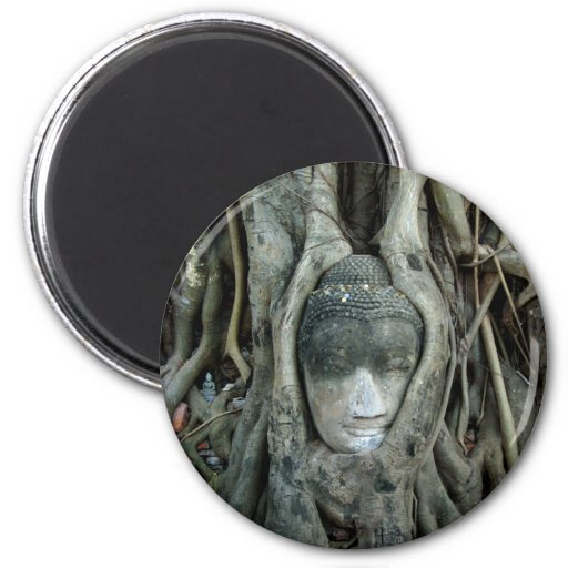 Buddha Head Fridge Magnet