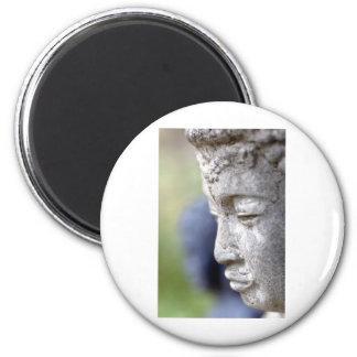 Buddha in Profile Refrigerator Magnet