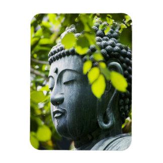 Buddha in Senso-ji Temple Garden Rectangular Photo Magnet