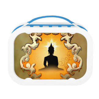 Buddha in the sunset lunch box