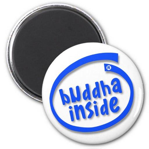 Buddha Inside Fridge Magnet