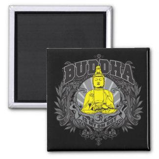 Buddha Is My Om Boy Refrigerator Magnets