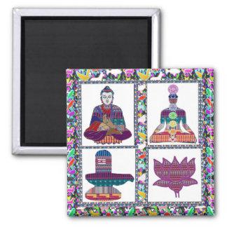 BUDDHA Meditation MAGNETS by Reiki Healing Master