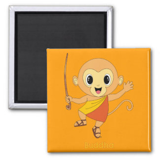 Buddha Monkey™ Magnet