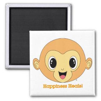 Buddha Monkey™ Square Magnet