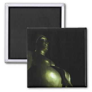 Buddha Night Square Magnet